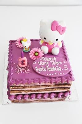 Opera Cake Hello Kitty kedai rachmah  large